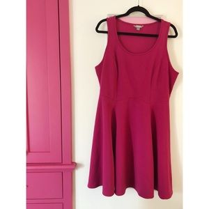 Lovesick Fashion Textured Skater Dress